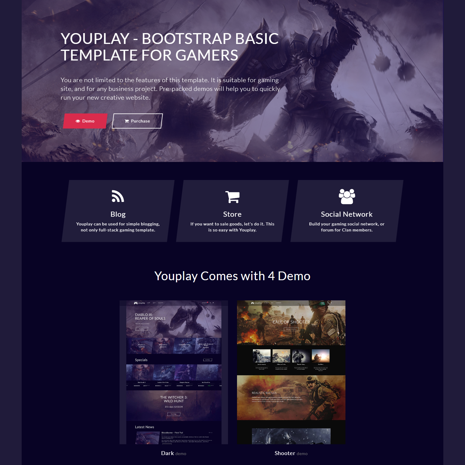 CSS3 Bootstrap Basic Templates